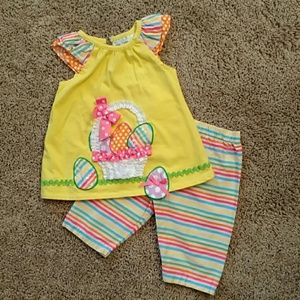 NWOT-Rare Editions 2-piece matching Easter set